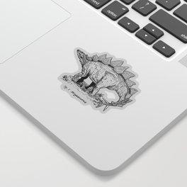 Figure One: Stegosaurus Sticker