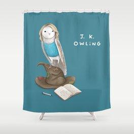 J. K. Owling Shower Curtain