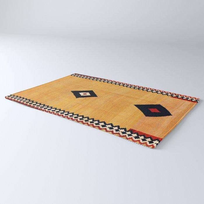 Qashqa'i Fars Southwest Persian Kilim Print Rug