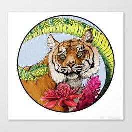 Sumatran Circle Canvas Print