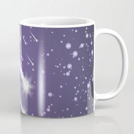 Flying meteors. Ultra violet. Coffee Mug