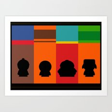 SouthPark: Meet Some Friends of Mine Art Print