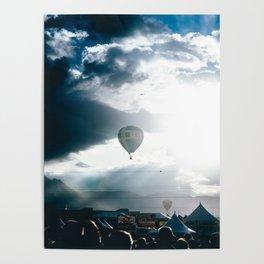 Albuquerque Balloon Fiesta Sunrise Poster