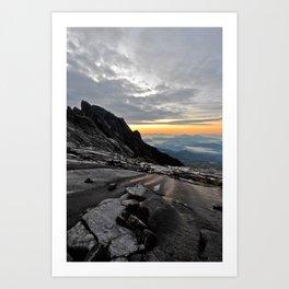 Mt. Kinabalu Art Print