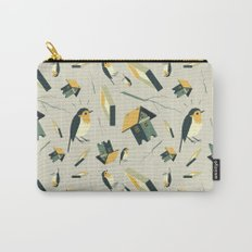 Flying Birdhouse (Pattern) Carry-All Pouch