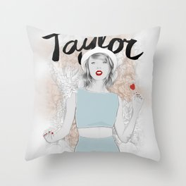 Tay Tay Swift Throw Pillow