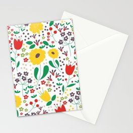 Spring Mornings Stationery Cards
