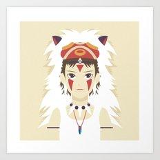 The Spirit Princess Art Print