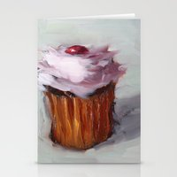 cupcakes Stationery Cards featuring Cupcakes by scott french studio