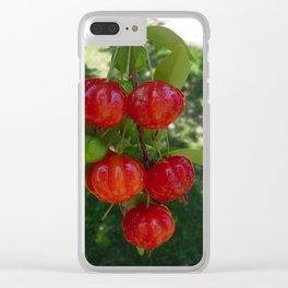 Fruta Pitangas Brasileiras !! Clear iPhone Case