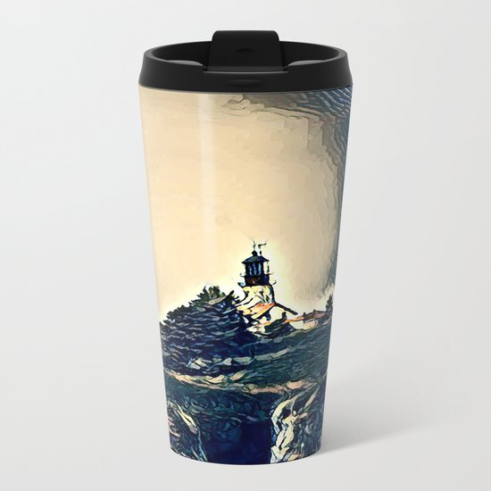 A Light In The Tempest Metal Travel Mug