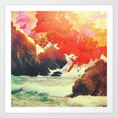 Endless Sunrise Art Print