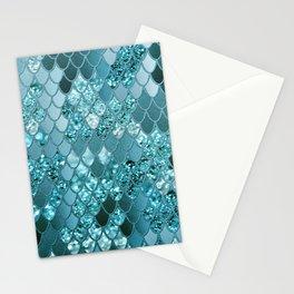Mermaid Glitter Scales #4 #shiny #decor #art #society6 Stationery Cards