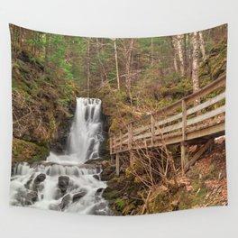 Dickson Boardwalk Falls Wall Tapestry