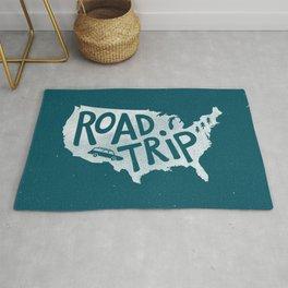 Road Trip USA - reverse Rug