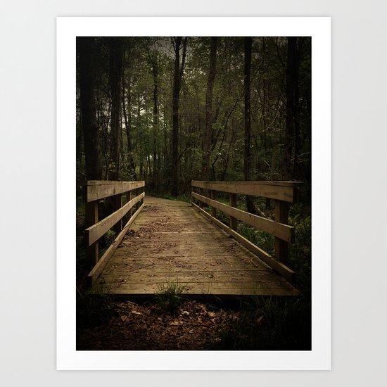 The Path Art Print
