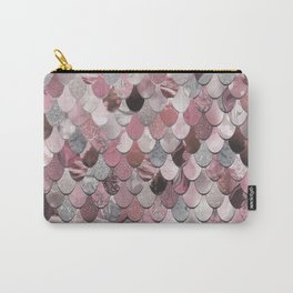 Mermaid Pink Carry-All Pouch