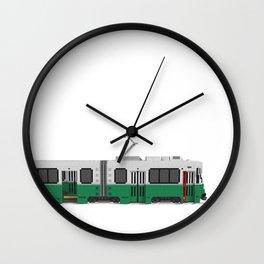 Boston Green Line Train Wall Clock