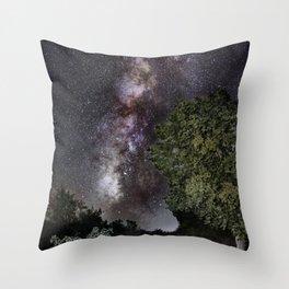 Towards the Milky way...... Throw Pillow