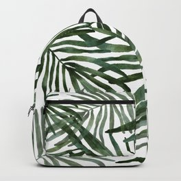 Watercolor simple leaves Backpack