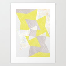 composition_No.4 Art Print