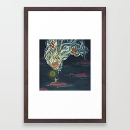 Lonely Islands Framed Art Print