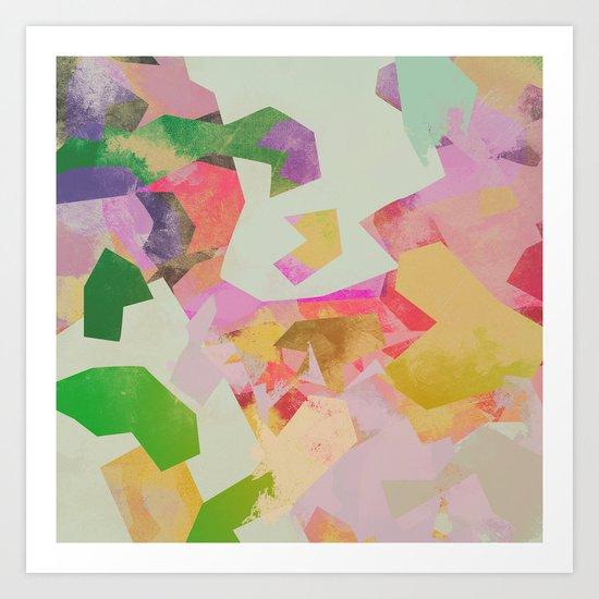 Camouflage VI Art Print