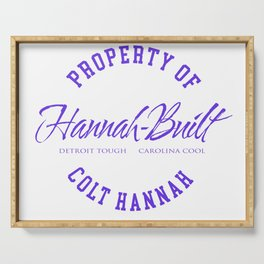 Property of Colt Hannah Serving Tray