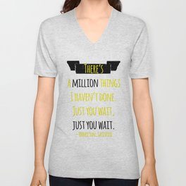 JUST YOU WAIT | HAMILTON Unisex V-Neck