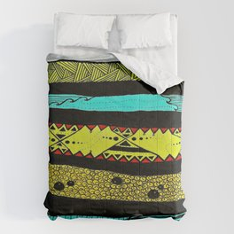 Sideways abstract  Comforters