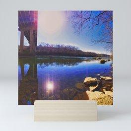 Schuylkill Sun Mini Art Print