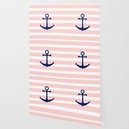 AFE Nautical Navy Ship Anchor Wallpaper