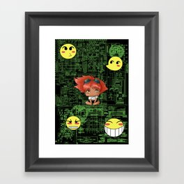 Chibi Edward Framed Art Print