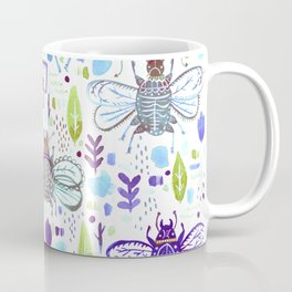 Inky Beetles Coffee Mug