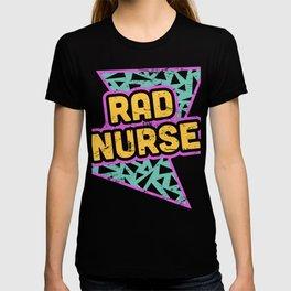 Rad Nurse | 90s Design T-shirt