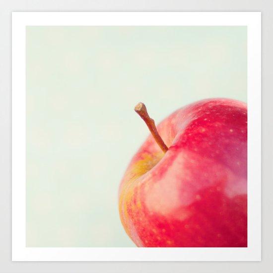 Apple. Art Print