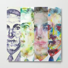 FOUR TIMES LOVECRAFT Metal Print