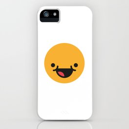 Emojis: Happy iPhone Case
