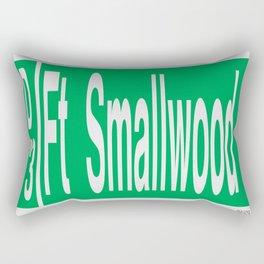 Fort Smallwood Road Rectangular Pillow
