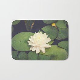 Peaceful Water Lily Bath Mat
