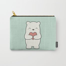 Kawaii Cute Polar Bear Carry-All Pouch