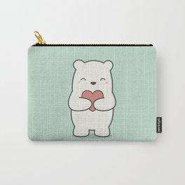 Kawaii Cute Polar Bear Carry-All Pouch