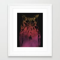 hedwig Framed Art Prints featuring Hedwig by Erik Sandi Satresa