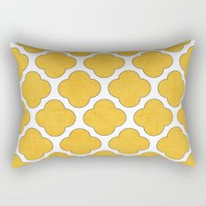 yellow clover Rectangular Pillow