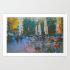 El Fresco Art Print