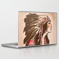 oklahoma Laptop & iPad Skins featuring Oklahoma  by Hollyce Jeffriess Designs