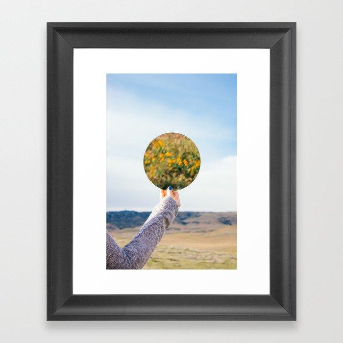 Look Back At It Framed Art Print