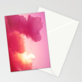 The battle of the light and shadow Stationery Cards
