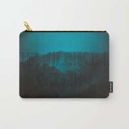 Silence Calling Carry-All Pouch