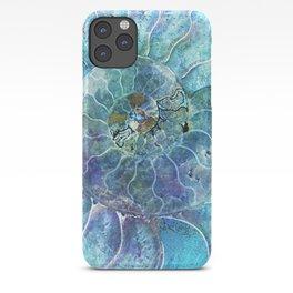 Aqua seashell - mother of pearl - Beautiful backdrop iPhone Case